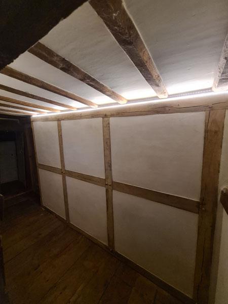Oak Wall